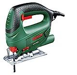 Bosch Stichsäge PST 650 (500 Watt, Schnitttiefe in Stahl/Holz 4mm/65mm, im Koffer)