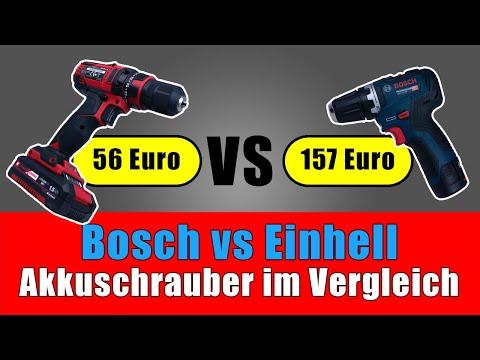 Bosch GSR 12V-35 vs Einhell TC-CD 18/35 - teuer vs billig 💸