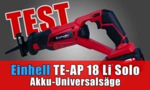 Einhell Akku-Universalsäge TE-AP 18 Li Solo