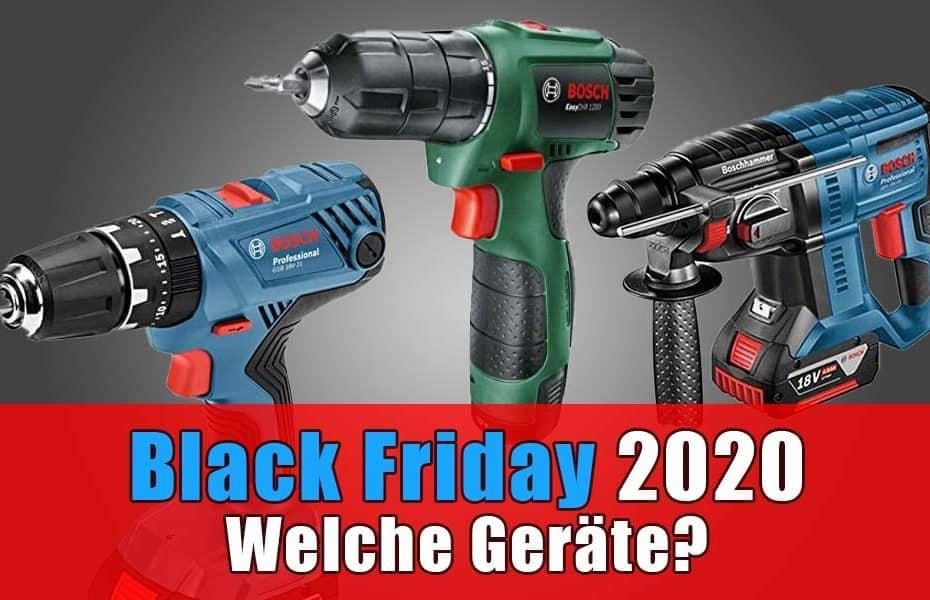 Black Friday 2020 Bosch Angebote